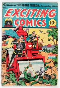Exciting Comics #35 (Nedor/Better/Standard, 1944) Condition: GD/VG