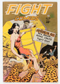 Golden Age (1938-1955):War, Fight Comics #46 (Fiction House, 1946) Condition: FN/VF....
