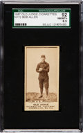 Baseball Cards:Singles (Pre-1930), 1887 N172 Old Judge Bob Allen, Pittsburgh (#5-3) SGC 92 NM/MT+ 8.5 - One of the Finest N172's in an SGC Holder! ...