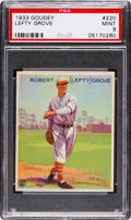 Baseball Cards:Singles (1930-1939), 1933 Goudey Lefty Grove #220 PSA Mint 9 - None Higher....