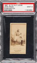 """Baseball Cards:Singles (Pre-1930), 1887 N172 Old Judge John Irwin (#243-1) PSA Mint 9 - Only Seven""""Mint 9"""" N172s on Record! ..."""