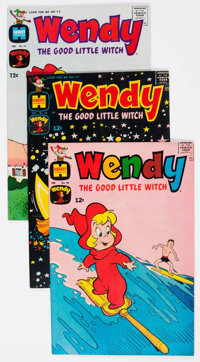 Wendy, the Good Little Witch File Copies Box Lot (Harvey, 1968-75) Condition: Average VF/NM