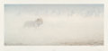 Prints, Robert McLellan Bateman (Canadian, b. 1930). Out of Range, 2001. Offset lithograph in colors. 18-1/2 x 39 inches (47.0 x...