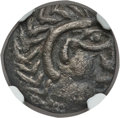 Ancients:Greek, Ancients: ARABIA. Gerrha. Abi'el (ca. 240-230 BC). BI drachm (3.23gm). NGC Choice XF 5/5 - 3/5....