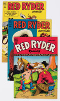 Golden Age (1938-1955):Western, Red Ryder Comics Group of 27 (Dell, 1949-58) Condition: Average FN/VF.... (Total: 27 Comic Books)