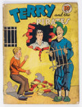 Golden Age (1938-1955):Adventure, Four Color (Series One) #9 Terry and the Pirates (Dell, 1940) Condition: GD-....