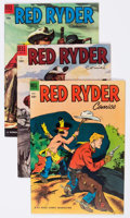 Golden Age (1938-1955):Western, Red Ryder Comics File Copy Group of 5 (Dell, 1953-55) Condition: Average VF/NM.... (Total: 5 Comic Books)