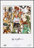 "Movie Posters:Fantasy, Ray Harryhausen Lot (2010). Museum Poster (23.25"" X 33"") & Art Prints (2) (12"" X 18""). Fantasy.. ... (Total: 3 Items)"