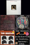 "Movie Posters:Rock and Roll, The Beatles Vinyl Record Lot (Various, 1960s-1980s). Vinyl Records(5) (12.25"" X 12.5""). Rock and Roll.. ... (Total: 5 Items)"