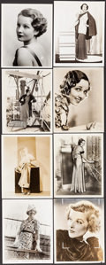"Movie Posters:Miscellaneous, Bette Davis & Others Lot (First National, 1938). Portrait Photos (16) (approx. 8"" X 10"") & Trimmed Photo (7.5"" X 9.75""). Mis... (Total: 17 Items)"