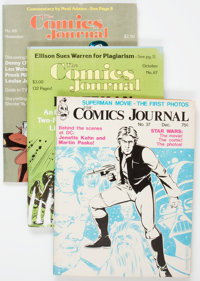 The Comics Journal Box Lot (Fantagraphics Books, 1977-96) Condition: Average VG/FN.... (Total: 2 Box Lots)