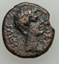 Ancients:Roman Provincial , Ancients: LYDIA. Philadelphia. Caligula (AD 37-41). AE 16 mm (3.70gm). Nearly VF....