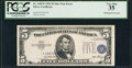 Error Notes:Shifted Third Printing, Fr. 1655* $5 1953 Silver Certificate Star. PCGS Very Fine 35.. ...
