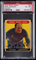 Golf Cards:General, 1933 Sport Kings Irvin Johnson #30 PSA EX-MT 6....