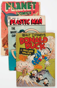 Comic Books - Assorted Golden and Silver Age Comics Box Lot (Various Publishers, 1950s-60s) Condition: Average FR