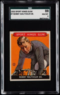 Golf Cards:General, 1933 Sport Kings Bobby Walthour #7 SGC 88 NM/MT 8....
