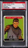 Golf Cards:General, 1933 Sport Kings Gene Tunney #18 PSA EX 5....
