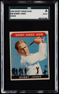 Golf Cards:General, 1933 Sport Kings Bobby Jones #38 SGC Authentic....