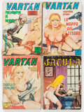 Memorabilia:Comic-Related, Italian Fumetti Box Lot (Various Publishers, 1960s-70s) Condition: Average GD/VG....