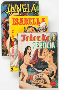 Italian Fumetti Box Lot (Various Publishers, 1960s-70s) Condition: Average GD/VG.... (Total: 2 Box Lots)