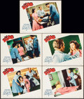 "Movie Posters:Science Fiction, The Blob (Paramount, 1958). Lobby Cards (5) (11"" X 14""). ScienceFiction.. ... (Total: 5 Items)"