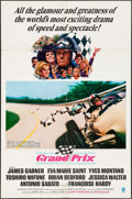 "Movie Posters:Sports, Grand Prix (MGM, 1967). One Sheet (27"" X 41"") & Lobby Card (11"" X 14""). Sports.. ... (Total: 2 Items)"
