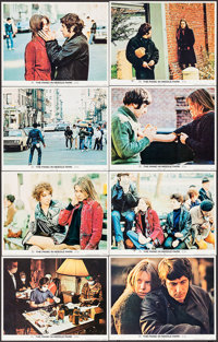 """The Panic in Needle Park & Other Lot (20th Century Fox, 1971). Lobby Card Set of 8 & Lobby Cards (10) (11""""..."""