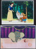 Miscellaneous Collectibles:General, Walt Disney Cartoon Cell Serigraphs Lot of 2....