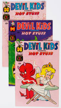 Bronze Age (1970-1979):Cartoon Character, Devil Kids Starring Hot Stuff File Copies Box Lot (Harvey, 1968-81) Condition: Average NM-....
