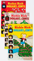Bronze Age (1970-1979):Humor, Richie Rich Dollars and Cents File Copies Box Lot (Harvey, 1969-82) Condition: Average NM-....