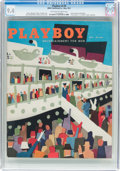 Magazines:Vintage, Playboy V4#5 (HMH Publishing, 1957) CGC NM 9.4 Off-white to white pages....