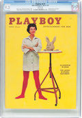 Magazines:Vintage, Playboy V6#3 (HMH Publishing, 1959) CGC NM- 9.2 White pages....
