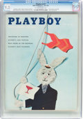 Magazines:Vintage, Playboy V6#7 (HMH Publishing, 1959) CGC NM- 9.2 Off-white to white pages....