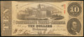 Confederate Notes:1863 Issues, T59 $10 1863 PF-3 Cr. 430.. ...