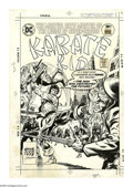 Original Comic Art:Covers, Ernie Chan and Mike Grell - Karate Kid #5 Cover Original Art (DC, 1976). The martial arts master of the Legion of Super-Hero...
