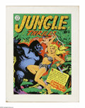 Original Comic Art:Covers, Mike Cody - Jungle Thrills #16 Recreation Original Art (undated).Jungle girls were all the rage in the fabulous fifties. Th...