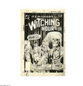 Original Comic Art:Covers, Luis Dominguez - The Witching Hour #78 Cover Original Art (DC,1973). We guarantee you'll be shocked by the figures inthi...