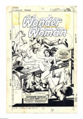 Original Comic Art:Covers, Dick Giordano - Wonder Woman #262 Cover Original Art (DC, 1979).Suffering Sappho -- in this Bronze Age blockbuster Wonder W...