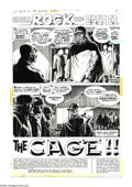 "Original Comic Art:Complete Story, Russ Heath - Our Army at War #263 Complete 12-page Story ""The Cage"" Original Art (DC Comics, 1973). Even a German POW camp c..."