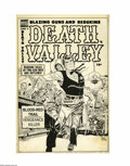 Original Comic Art:Covers, Don Heck - Death Valley #5 Cover Original Art (Comic Media, 1954).Don Heck's covers for Comic Media are considered one of t...(Total: 4 Items)