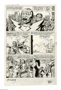 Original Comic Art:Panel Pages, Jack Kirby, Dick Ayers, and Steve Ditko - Fantastic Four #20, page 17 Original Art (Marvel, 1963)....