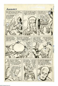 Original Comic Art:Panel Pages, Jack Kirby and Chic Stone - Avengers #6, page 2 Original Art(Marvel, 1964). World War II legend Captain America gets a sixt...