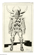 """Original Comic Art:Splash Pages, Jack Kirby and Mike Royer - """"Lord of Light"""" Presentation PieceOriginal Art (1978). When it came to creating fantastic costu..."""