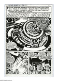 "Original Comic Art:Panel Pages, Jack Kirby and Mike Thibodeaux - Captain Victory and the GalacticRangers #9, Complete 5-page Story ""The Unseen World"" Origina...(Total: 5 Items)"