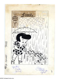Original Comic Art:Covers, Warren Kremer - Little Dot #59 Cover Original Art (Harvey, 1960).When it rains, it pours -- dots, that is! Here is a wonder...