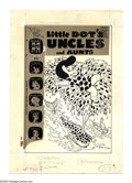 Original Comic Art:Covers, Warren Kremer - Little Dot's Uncles and Aunts #30 Cover OriginalArt (Harvey, 1969). Little Dot rises on a plume of spots, d...