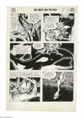 Original Comic Art:Panel Pages, Joe Kubert - The Brave and the Bold #21, page 23 Original Art (DC,1958). Like a harpoon hurled into the sea, the Viking Pri...