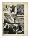 Original Comic Art:Panel Pages, Gray Morrow - Savage Tales #1, Man-Thing page 33 Original Art(Marvel, 1971). Gray Morrow has detailed this thrilling page f...