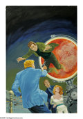 "Original Comic Art:Covers, Gray Morrow - ""Path of Universe"" Book Cover Original Art (undated).Gray Morrow treats us to a realistic scene reminiscent o..."