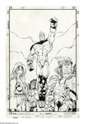 Original Comic Art:Covers, Adam Pollina and Jonathan Sibal - Combo Magazine Cover Original Art(undated). Best known for his work on Marvel Comics' X...